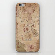 Map of Hyrule- Legend of Zelda iPhone & iPod Skin