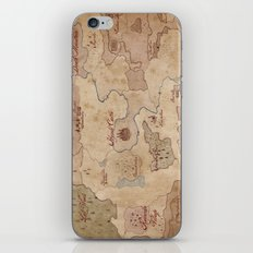 Map of Hyrule- Legend of Zelda iPhone & iPod Skin
