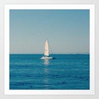Sea Point  Art Print