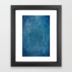 Photography Backdrop: Blue Framed Art Print