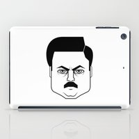 Ron Swanson iPad Case