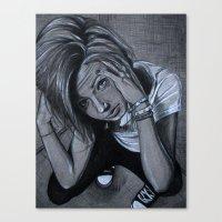 Claustrophobia Canvas Print