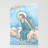 Angel On A Cloud Stationery Cards