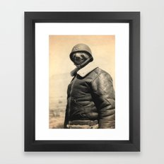 General Sloth Framed Art Print