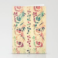Another Floral Pattern Stationery Cards