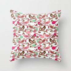 Tweet! Throw Pillow