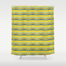 Lemon summer  Shower Curtain