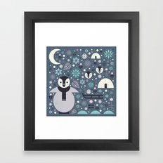Penguin Small Framed Art Print