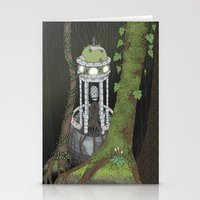 Temple Of The Gatekeeper Stationery Cards