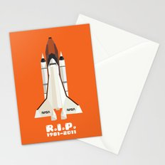 RIP, space shuttle Stationery Cards