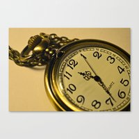 Pocketwatch Canvas Print