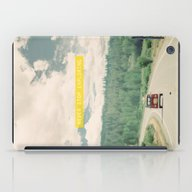 iPad Case featuring NEVER STOP EXPLORING - V… by Leslee Mitchell