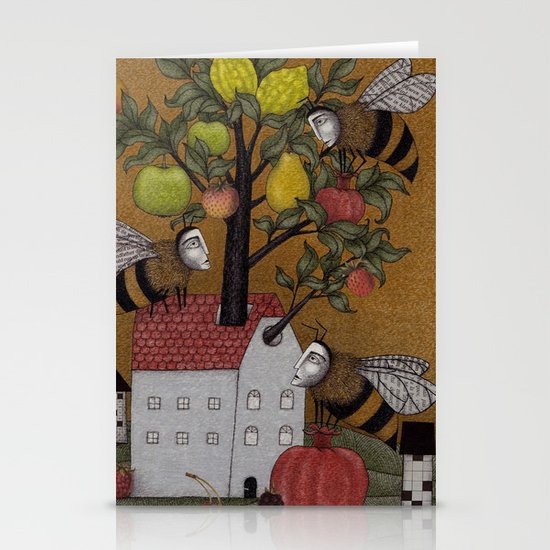 We need the BEE! Stationery Card