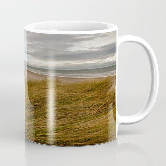 Bamburgh Beach Mug