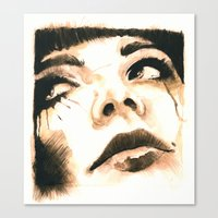Sorrow  Canvas Print