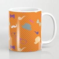 Hipster Pattern Mug