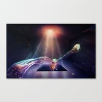 Room of Abstract Imagination Canvas Print