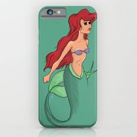 The Miniature Mermaid iPhone 6 Slim Case
