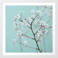 Rêve Floral Art Print