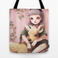 My dear lady deer... Tote Bag