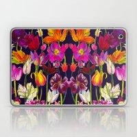 Pink and Orange Tulips Laptop & iPad Skin