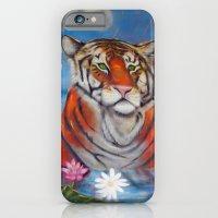 Bathing Tiger iPhone 6 Slim Case