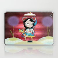 Doll  little dog carrousel and cute butterfly panda bear toy Laptop & iPad Skin