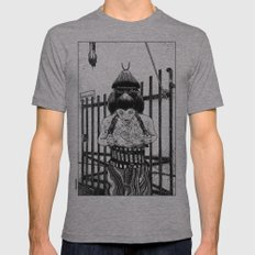asc 589 - La maison close (No trespassing) Mens Fitted Tee Athletic Grey SMALL