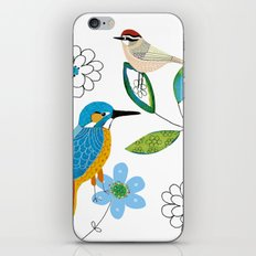 Polish birds iPhone & iPod Skin