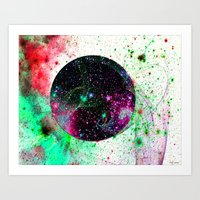 Hole In The Space-Time Fabric Art Print