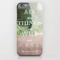 iPhone & iPod Case featuring ALL GOOD THINGS by Megan Robinson