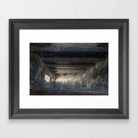 The Old Factory Framed Art Print