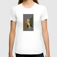 Chinese Dress Womens Fitted Tee White SMALL