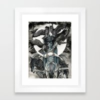 Peregrine  Framed Art Print