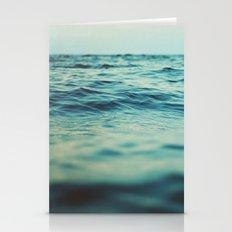 Aqua Sea Stationery Cards