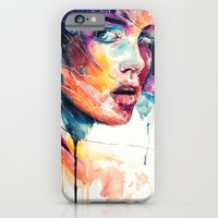 iPhone Cases featuring sheets of colored glass by agnes-cecile