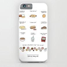 Foods of 30 Rock Slim Case iPhone 6s