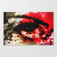 Window Of The Soul - Pas… Canvas Print