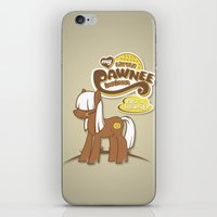 My Little Pawnee iPhone & iPod Skin