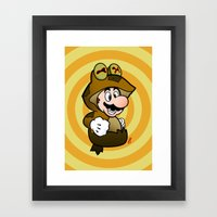 All Glory To The Mario B… Framed Art Print
