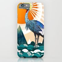 Crowned Crane iPhone 6 Slim Case