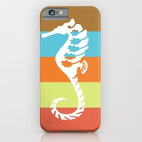iPhone & iPod Case featuring sea side story: seahorse   by some guy named christian