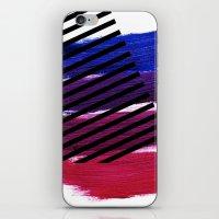 Magenta Broadcast iPhone & iPod Skin