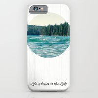 Life On The Lake iPhone 6 Slim Case