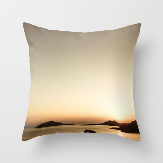 Sounio Throw Pillow