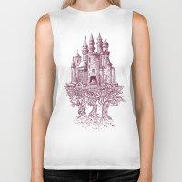 Castle In The Trees Biker Tank