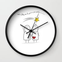 Jibsey & Jess. Catch A F… Wall Clock