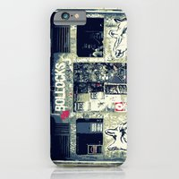 iPhone & iPod Case featuring Never Mind the Rock Bar by Catherine Doolan