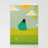 LILLL Monsters Stationery Cards