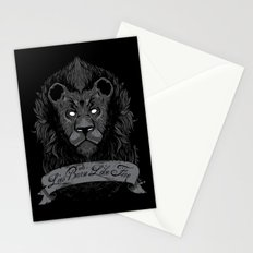 Burning Lies Stationery Cards